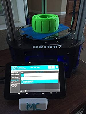 SeeMeCNC Orion Delta 3D Printer Kit with MatterControl Touch Controller