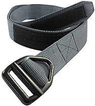 Bison Designs 38MM Last Chance Heavy Duty W/Gunmetal Buckle Belt (Graphite, M)
