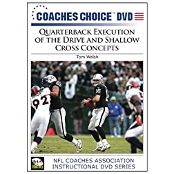 Quarterback Execution of the Drive and Shallow Cross Concepts