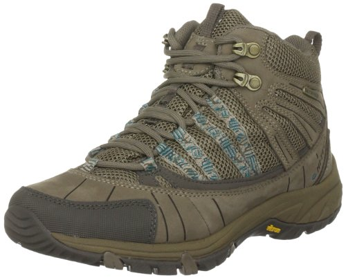 Hi-Tec Women's Harmony Mid Wp Light Taupe/Ultramarine Hiking Boot O001607/041/01 8 UK, 42 EU, 10 US