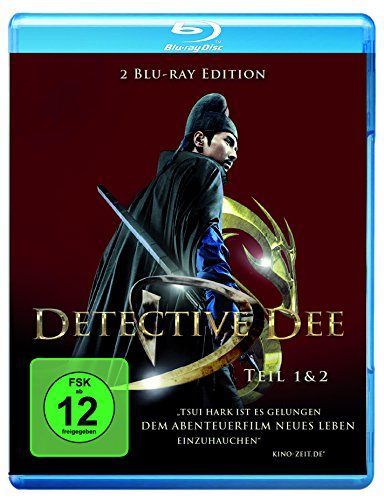 Detective Dee 1 & 2 [Blu-ray]
