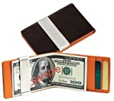New - March Leather Money Clip and Credit Card Holder - VMC60