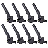 Ignition Coil Complete Set of 8 w/ for Ford Lincoln 4.6L 5.4L 6.8L V8 Compatible with DG-508 DG508