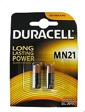 Comprar Duracell MN21-2 12V MN21 23A V23GA - Baterías alcalinas (pack de 2 , 12 voltios, 50mAh)