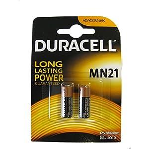 DURACELL Pile alarme et télécommande MN21 12V blister de 2