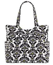 Vera Bradley Pleated Tote in Fanfare, 10812-156