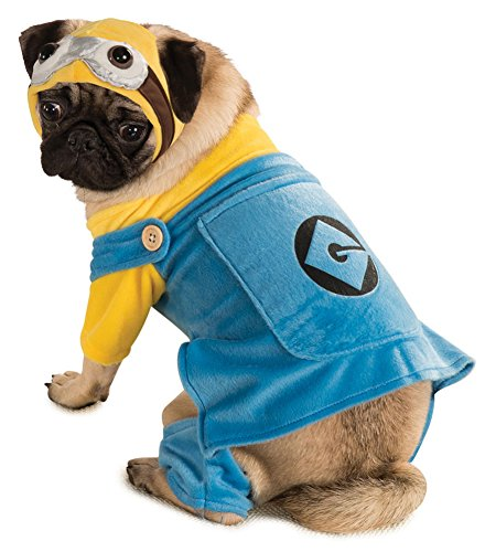 costume accessories - Cat & Dog Costume Minion Medium