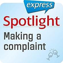Spotlight express - Ausgehen: Wortschatz-Training Englisch - Beschwerden (       ungekürzt) von  div. Gesprochen von:  div.