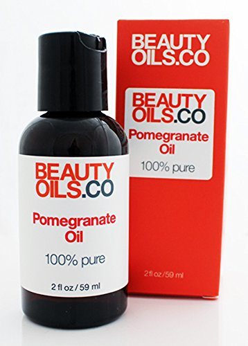 BEAUTYOILS.CO Pomegranate Seed Oil Moisturizer - 100% Pure Cold Pressed Beauty Face Oil (2 fl oz)
