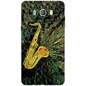 Samsung J7 new edition 2016 Back Cover - Silicon playlist Designer Cases