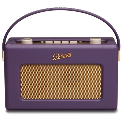 Roberts RD60 Revival DAB/FM RDS Digital Radio with Up to 120 Hours Battery Life - Cassis