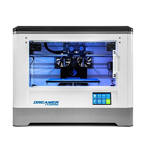 FLASHFORGE フラッシュフォージ 3Dプリンター DREAMER ドリーマー デュアルヘッド 日本語説明書&日本語ソフト 日本正規代理店