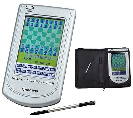 Excalibur Electronic Deluxe Talking Chess