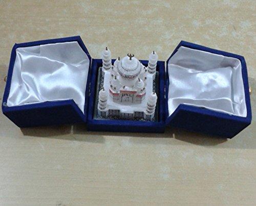 Replica Marble Taj Mahal Miniature Model Gift Decorative Souvenir Decor Gift Art 2 Inch (Taj Mahal Model compare prices)