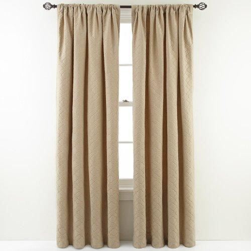 Amazon.com - MARTHA STEWART MarthaWindow Cloudscape Rod-Pocket Curtain