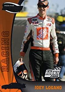 Buy 2009 Press Pass Fusion #73 Joey Logano Rc. by Press Pass