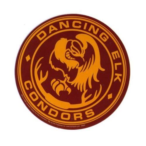 Amazon.com: Juno Dancing Elk Condors Cross Country Team Logo Sticker