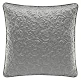 Croscill Everly European Sham, Silver