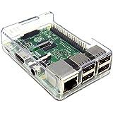 本体&ケース 超小型パソコン Raspberry Pi 2 Model B RS正規品 (Clear)