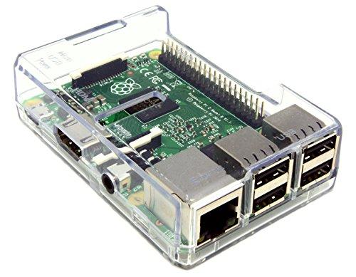 Raspberry Pi 2 ラズベリー・パイ 超小型パソコン Pi 2 MODEL B 本体 & 専用ケース (Clear)