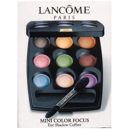 Amazon.com : Lancome Mini Color Focus Eye Shadow Coffret
