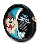 517h5pw5l3L. SL160  Taz Attitude Steering Wheel Cover