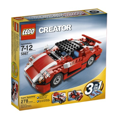 Images for LEGO Creator Red Car (5867)