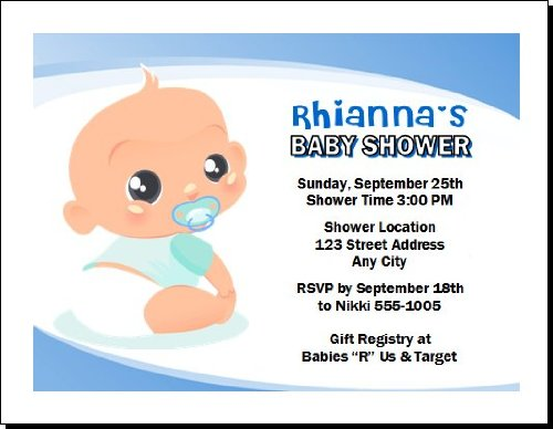 Baby Shower Invitation Images front-952794