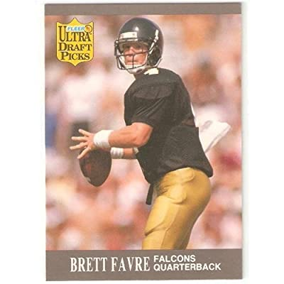 1991 Fleer Ultra #283 - Brett Favre (RC) Green Bay Packers - Football Rookie Card - Draft Pick NFL Football Trading Card