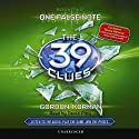 The 39 Clues Book Two: One False Note Audiobook by Gordon Korman Narrated by David Pittu
