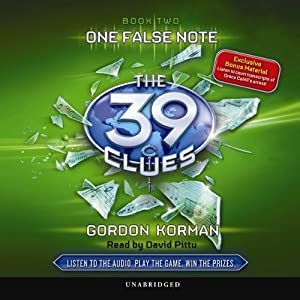 The 39 Clues, Book 2: One False Note | [Gordon Korman]