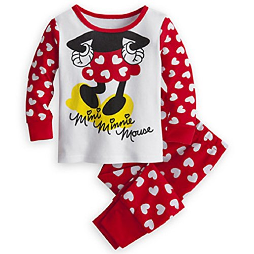 Disney Store - Minnie Mouse Autograph Pj Pals for Baby - Size 18 - 24 Mos - NEW - New