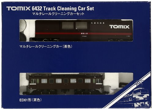 TOMIX Nゲージ 6432 マルチレールクリーニングカーセット