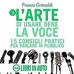 L'arte di usare bene la voce: 15 consigli pratici per parlare in pubblico | Franca Grimaldi