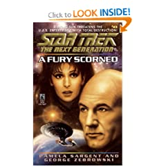 Star Trek: The Next Generation: A Fury Scorned by Pamela Sargent and George Zebrowski