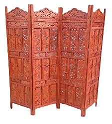 AAMAZING Shilpi:Wooden Partition / wooden Room Divider/ wooden Screen / wooden seperator /Wooden Wooden Screen/Partition/Room divider