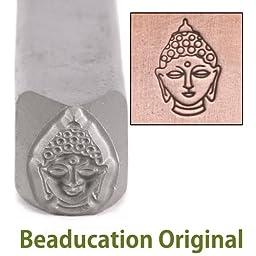 Buddha Metal Design Stamp - Beaducation Original