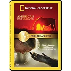 From the National Geographic Archives: My Life With Chimpanzees and America's Lost Mustang Double Feature