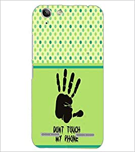 PrintDhaba Quote D-2756 Back Case Cover for LENOVO A6020a46 (Multi-Coloured)