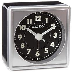 Seiko QHE083SLH Bedside Alarm Clock