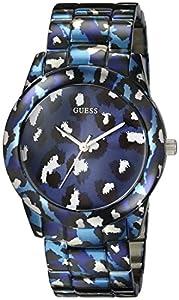 GUESS Women's U0425L1 Analog Display Quartz Blue Watch