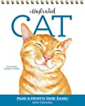 Illustrated Cat Page-A-Month Desk Eas...