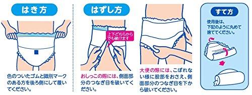 サルバ Dパンツ  しっかりガード 長時間 男女共用 M-Lサイズ 18枚入り【ADL区分:立てる・座れる方】 白十字