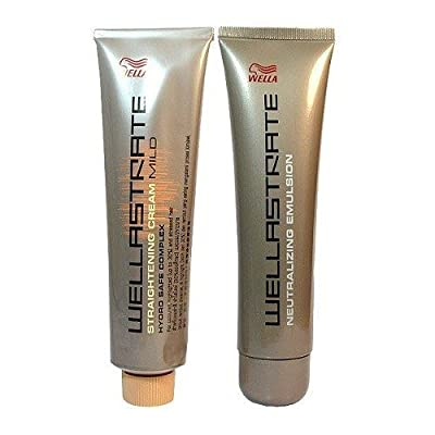 Wella Strate Straightener System Intense Hair Cream
