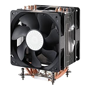 Cooler Master RR-B10-212P-G1 Hyper 212 Plus 775/1156/1366/AMD/AM2/AM3 Universal Direct Contact Heat-Pipe 120mm Fan CPU Cooler (Discontinued by Manufacturer)