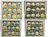 24 Ostereier handbemalt