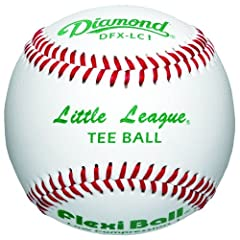 Buy Diamond Little League Low Compression Level 1 Tee Ball Baseball, Dozen by Diamond Sports