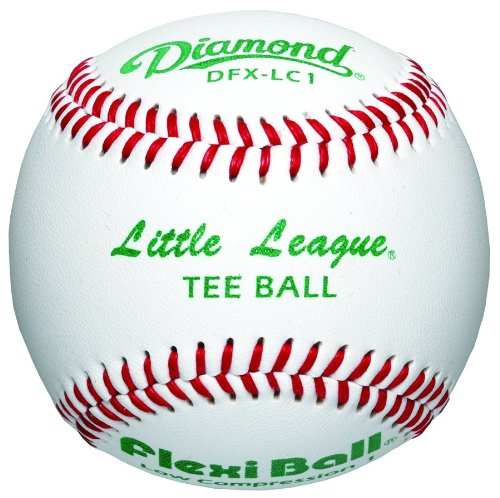 Diamond Little League Low Compression Level 1 Tee Ball Baseball, Dozen