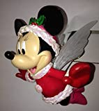 Retired Disney Minnie Mouse Tree Topper Fiber Optic Wings