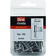 Do it Best Global Sourcing381683Do it Best POP Rivets-1/8X1/2 ALUM RIVET